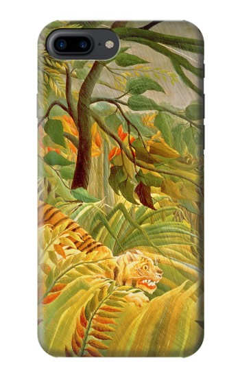 Printed Henri Rousseau Tiger in a Tropical Storm Iphone 7 plus Case