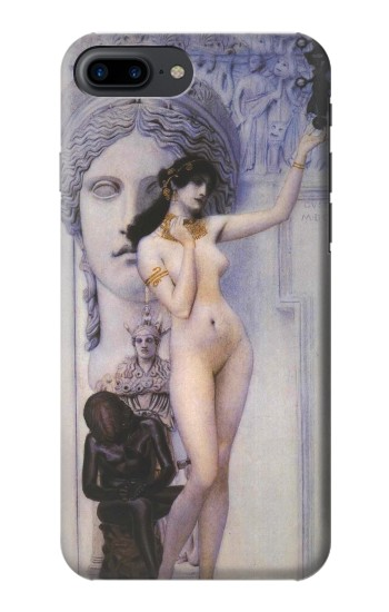Printed Gustav Klimt Allegory of Sculpture Iphone 7 plus Case