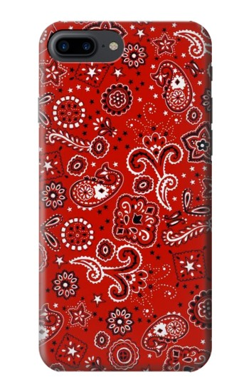 Printed Red Bandana Iphone 7 plus Case