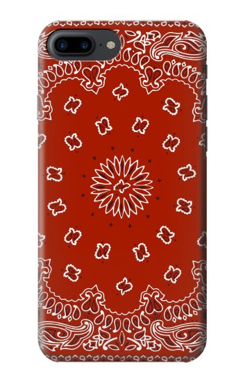 Printed Bandana Red Pattern Iphone 7 plus Case