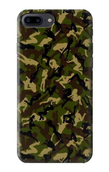 Printed Sexy Girls Camo Iphone 7 plus Case