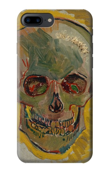 Printed Vincent Van Gogh Skull Iphone 7 plus Case