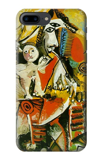 Printed Picasso Painting Cubism Iphone 7 plus Case