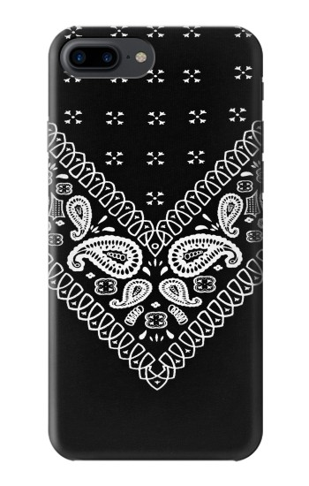 Printed Bandana Black Pattern Iphone 7 plus Case