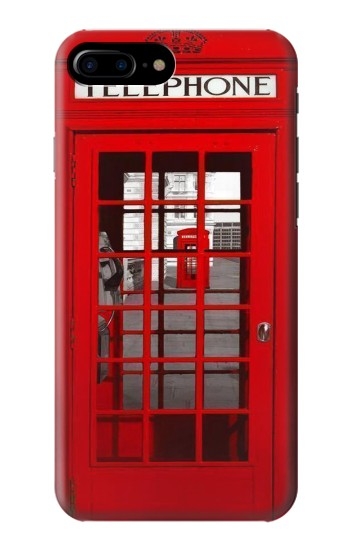 Printed Classic British Red Telephone Box HTC One Max Case