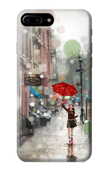 Printed Girl in The Rain HTC One Max Case