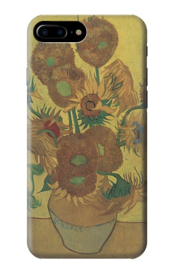 Printed Van Gogh Vase Fifteen Sunflowers HTC One Max Case