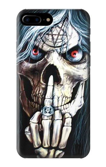 Printed Skull Pentagram HTC One Max Case