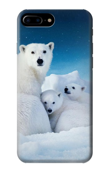 Printed Polar Bear Family Arctic HTC One Max Case