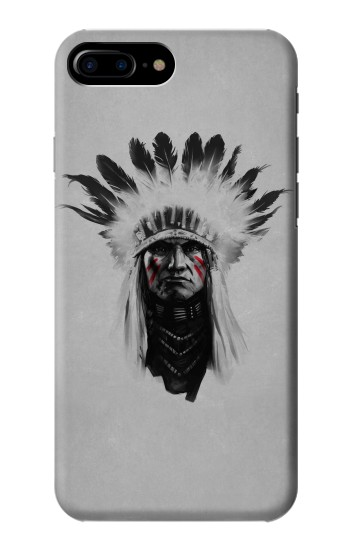 Printed Indian Chief HTC One Max Case