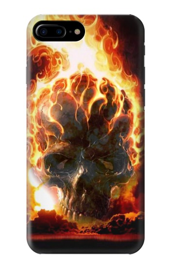 Printed Hell Fire Skull HTC One Max Case