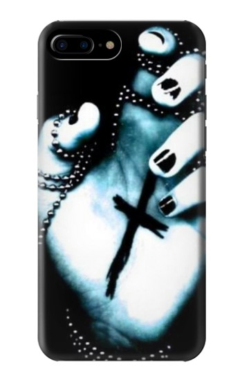Printed Dark Gothic Cross Hand HTC One Max Case