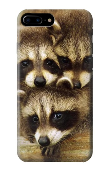 Printed Baby Raccoons HTC One Max Case