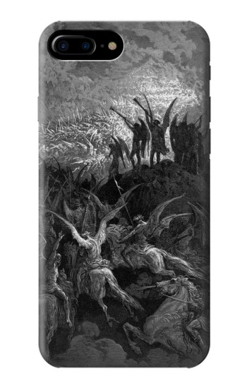 Printed Gustave Dore Paradise Lost HTC One Max Case