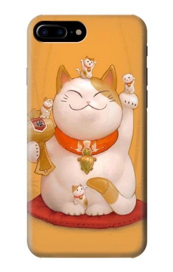 Printed Maneki Neko Lucky Cat HTC One Max Case