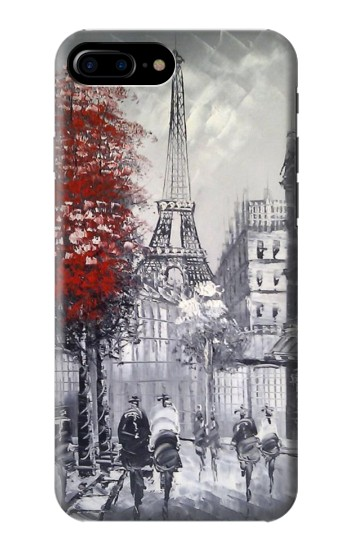 Printed Eiffel Painting of Paris HTC One Max Case