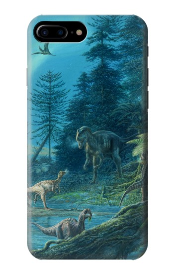 Printed Jurassic Park Dinosaurs HTC One Max Case