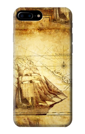 Printed Frigate Old Ship HTC One Max Case