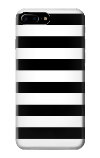 Printed Black and White Striped HTC One Max Case