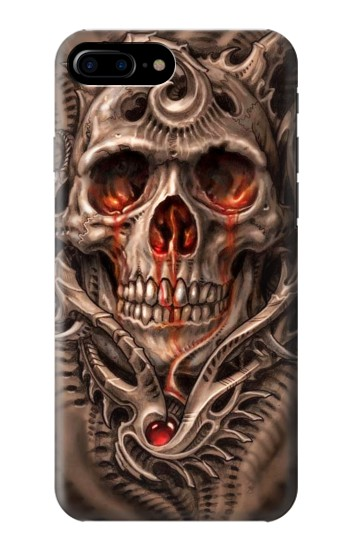 Printed Skull Blood Tattoo HTC One Max Case