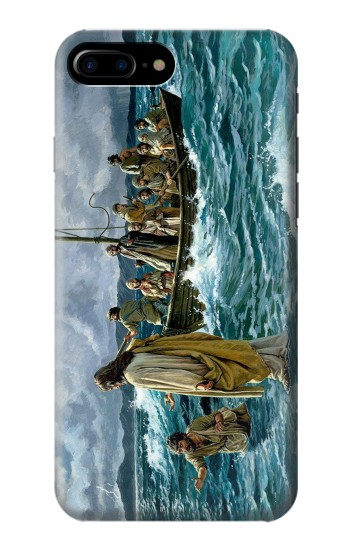 Printed Jesus Walk on The Sea HTC One Max Case