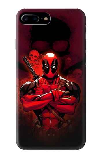 Printed Deadpool Skull HTC One Max Case