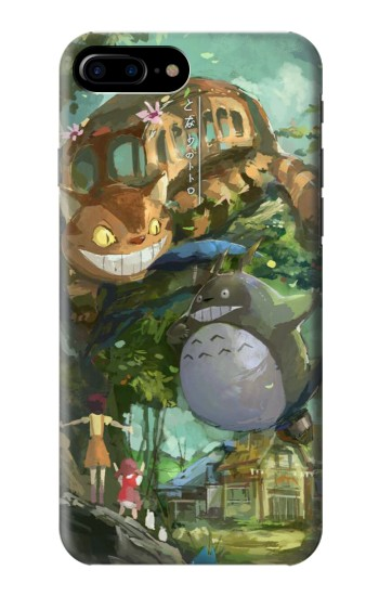 Printed My Neighbor Totoro Cat Bus HTC One Max Case