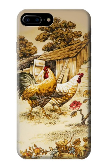 Printed French Country Chicken HTC One Max Case