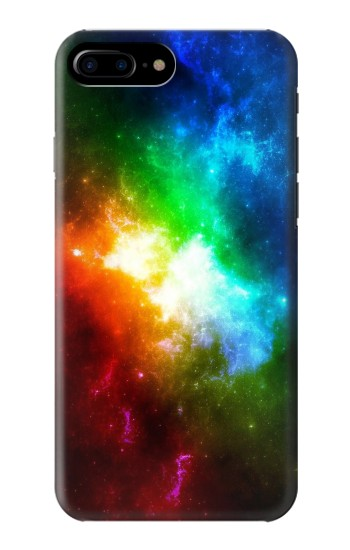 Printed Colorful Rainbow Space Galaxy HTC One Max Case