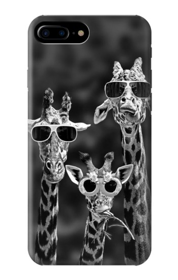 Printed Giraffes With Sunglasses HTC One Max Case