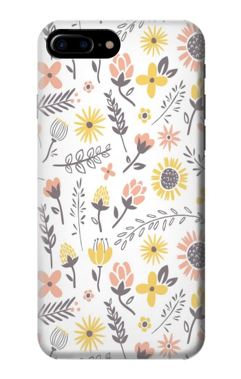 Printed Pastel Flowers Pattern HTC One Max Case