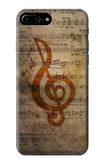 Printed Sheet Music Notes HTC One Max Case