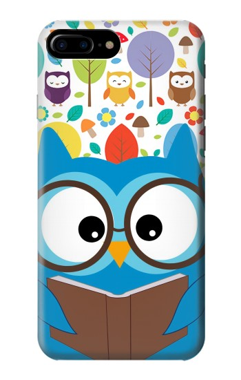 Printed Cute Owl Cartoon HTC One Max Case