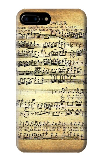 Printed The Fowler Mozart Music Sheet HTC One Max Case