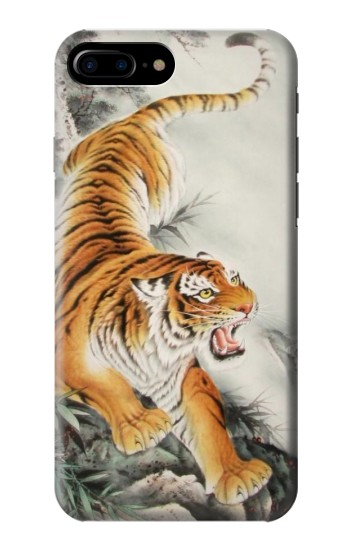 Printed Chinese Tiger Tattoo Painting HTC One Max Case