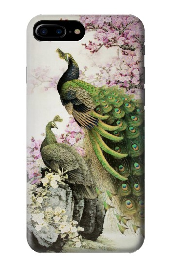 Printed Peacock Chinese Brush Painting HTC One Max Case