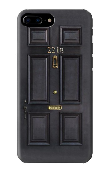 Printed Sherlock Holmes Black Door 221B HTC One Max Case