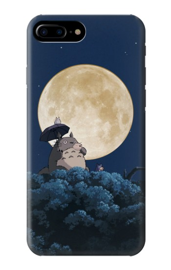 Printed Totoro Ocarina Moon Night HTC One Max Case