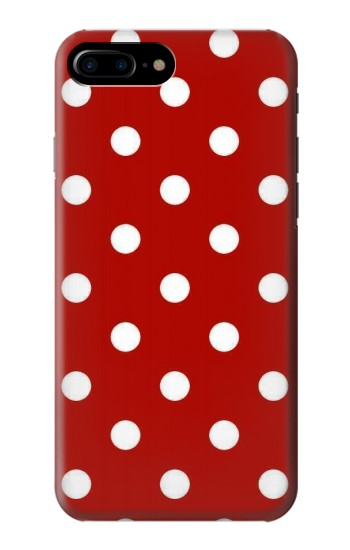 Printed Red Polka Dots HTC One Max Case