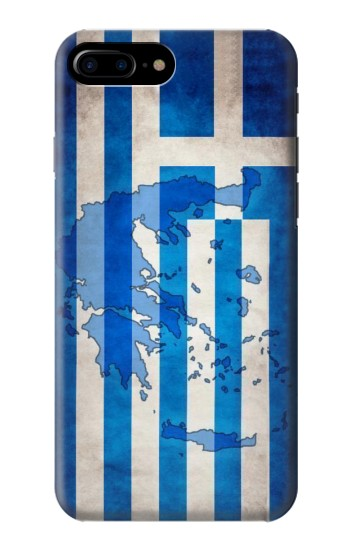 Printed Greece Map Flag HTC One Max Case