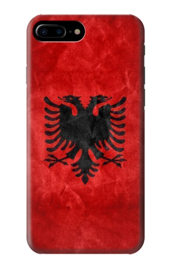 Printed Albania Red Flag HTC One Max Case