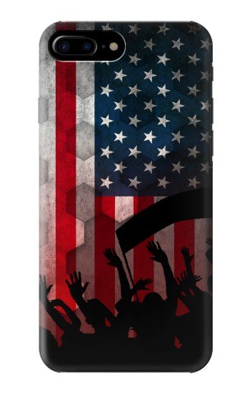 Printed USA American Football Flag HTC One Max Case