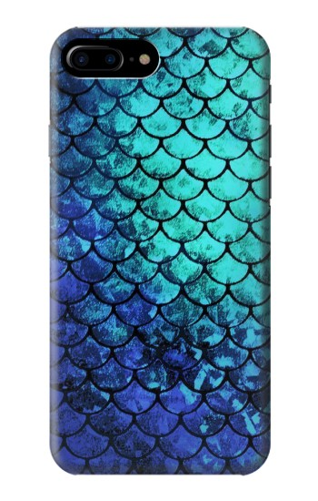 Printed Green Mermaid Fish Scale HTC One Max Case