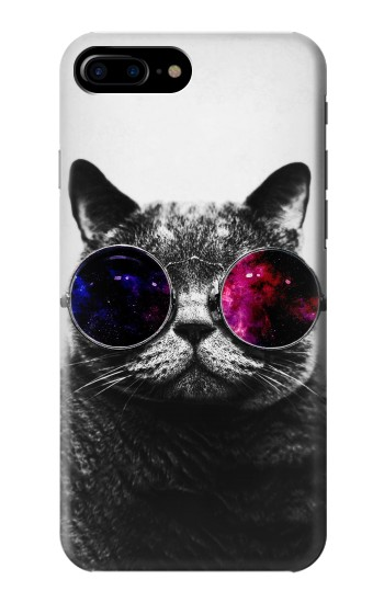 Printed Cool Cat Glasses HTC One Max Case