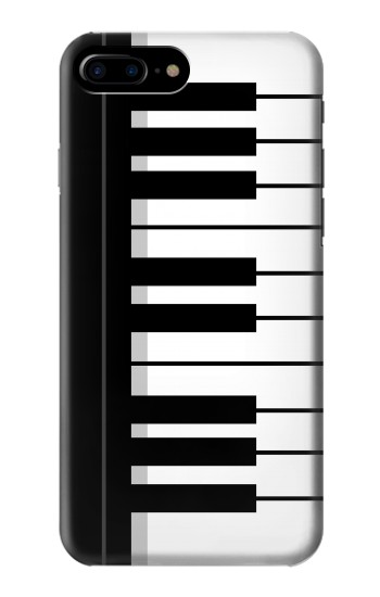 Printed Black and White Piano Keyboard HTC One Max Case