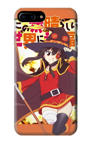Printed Konosuba Megumin Explosion HTC One Max Case