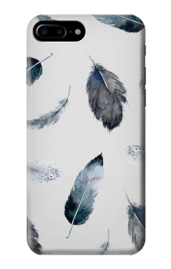 Printed Feather Paint Pattern HTC One Max Case