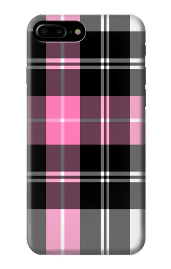 Printed Pink Plaid Pattern HTC One Max Case