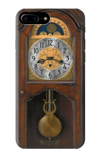 Printed Grandfather Clock Antique Wall Clock HTC One Max Case