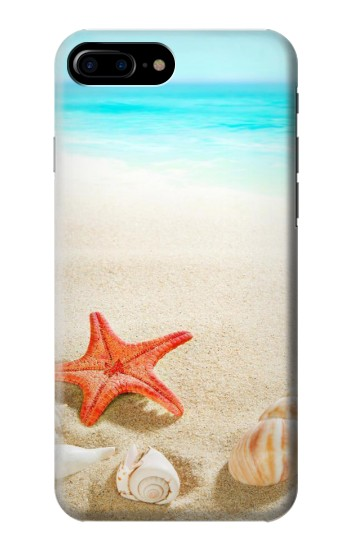 Printed Sea Shells Starfish Beach HTC One Max Case